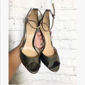 SCHULZ• Sassha Lee• silver heel highs